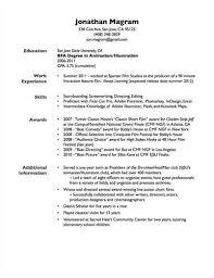 Gpa On Resume Example