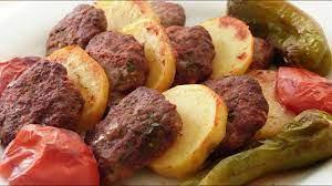 Fırında Köfte Patates Tarifi   Fırında Köfte Nasıl Yapılır - YouTube