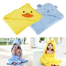 LUXURY ORGANIC COTTON Hooded Bath Towel for Baby & Toddler; Large ...