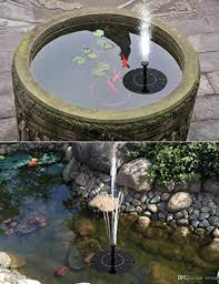 solar fountain pump with battery backup 1 5w upgraded submersible solar water fountain panel kit for bird bath small pond garden and lawn solar fountain