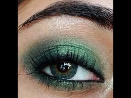 smokey emerald green eye makeup tutorial clista