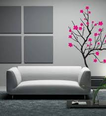 pink flowers tree wall art and decor 4 pieces grey canvas hang on white wall white  on 4 piece metal wall decor with wall art top 10 ideas wall art and decor music wall art and decor