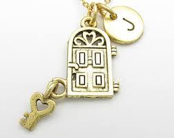 House key necklace Etsy