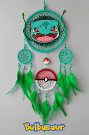 Dream Catcher Pokemon Bulbasaur Decor Pokemon Fan Gift Dream Catcher Wall Hanging 13