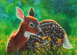 google image result for images fineartamerica com images um large daisy deer crista forest jpg art and deer paintings and