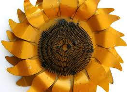 yard art metal wall decor sunflower sculpture 22quot ebay on sunflower wall art metal with 31 sunflower wall art sunflowers vintage home decor wall art shabby
