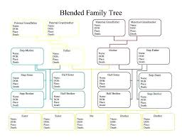 Build A Family Tree In Excel Simple Family Tree Template Excel Trees Free Family Trees Template