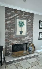 reface brick fireplace reface brick fireplace with tile