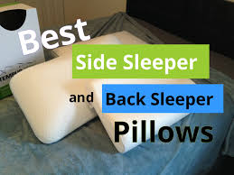 What Type Of Pillow Is Best For Side Sleepers Best Side Sleeper And Back Sleeper  Pillows
