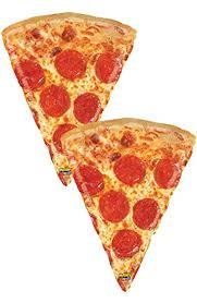 pepperoni pizza slice. Beautiful Slice Set Of 2 Jumbo 34u0026quot Realistic Pepperoni Pizza Slice Party Balloons Inside P