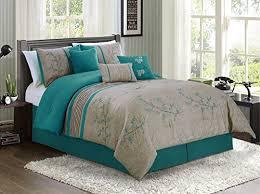 teal camo comforter sheet set bed