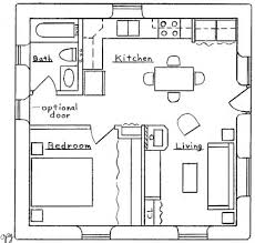 images about Black Cube Black Box House on Pinterest   Tiny    Specifications  sq  ft  interior  bedroom  bath  Footprint  x Description  This compact bungalow design can be built as a single family residence
