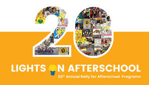 Lights On Afterschool Our Countdown To The 20th Lights On Afterschool Is Underway