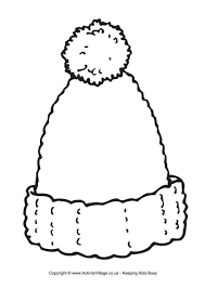 Small Picture Woolly Hat Writing Frame