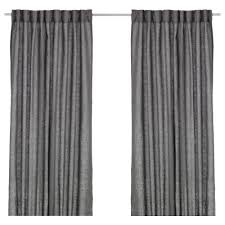 ikea aina curtains 1 pair the curtains can be used on a curtain rod or