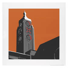 Oxo Bathroom Accessories Oxo Tower Print 50 X 50cm Print By Jayson Lilley Buy Now At