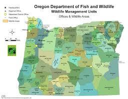 odfw hunting big game  unit maps