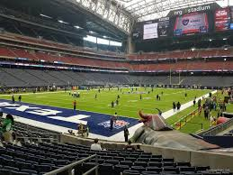 Houston Texans Nrg Stadium Seating Chart Interactive Map