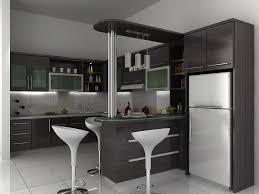 model dapur minimalis mini bar
