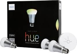 you can manage hue lights from your smartphone or tablet and all hue lights work together the free ios and android compatible app lets you adjust colors
