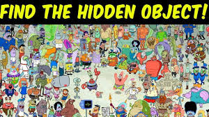 They consist of the word (restaurant). Can You Find Spongebob Hidden Objects Puzzle Find The Hidden Object Games Youtube