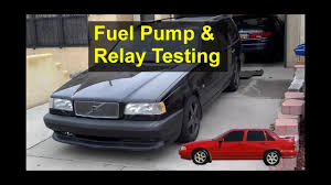 random stalling, will not start, fuel pump and relay testing, volvo volvo 850 fuse panel at Volvo850 Fuse Box