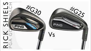 Ping G30 Vs Ping G25 Irons