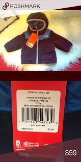 Nwt North Face Baby Boy Reversible Jacket Get Cozy Little