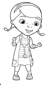 Fascinating Doc Mcstuffins Coloringages Chilly Disney Junior Free