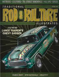 Traditional Rod & Kulture Illustrated - KUSTOM INK