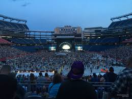 Gillette Stadium Concert Seating Guide Rateyourseats Com