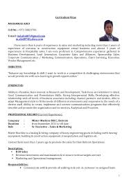 marketing and sales cv cv sr executive sales marketing