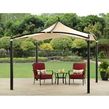 x outdoor backyard regency patio canopy gazebo tent home depot x outd full