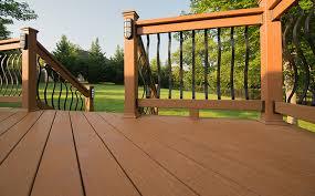 composite deck ideas. Shown In Harvest Composite Deck Ideas 1