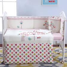 plain baby bedding sets baby bedding set crib bedding set cot bedding set embroidery bird tree