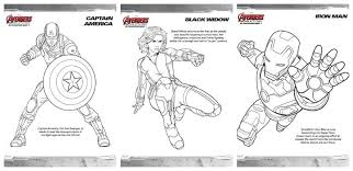 Small Picture Avengers Age of Ultron Coloring Pages and More
