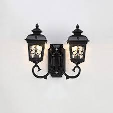 modeen antique classic outdoor 2 lights