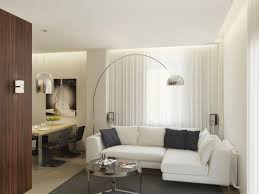 Little Living Room Dining Room Comfort Living Room For Small Modern Apartment With