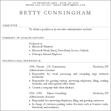 How To Write A Resume With Little Experience 9