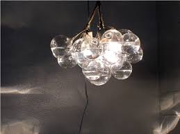 glass bubble chandelier for bathroom floating best home decor ideas image of lamp design dining table light fixture entrance foyer