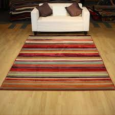 black and white striped area rug luxury red and white striped rug trendy red green and brown