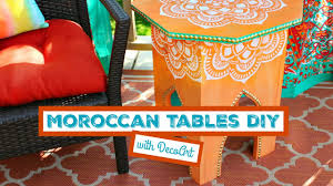 cheap moroccan furniture. HOW TO: Moroccan Tables DIY Cheap Furniture