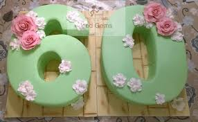 Number 60 Cake 60 Birthday Party Ideas Birthday Cake For Mom