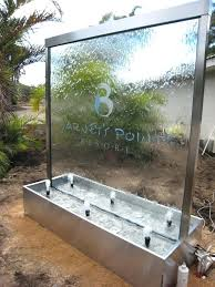 N Outdoor Water Wall Wave Commercial