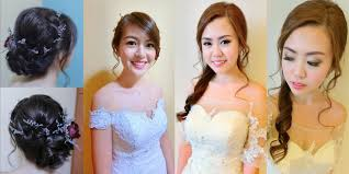 rates sgd500 for one bridal makeup look to sgd1100 for three bridal makeup looks all packages include trial lashes transportation and oule