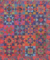 22 best QUILTS - KAFFE FASSETT images on Pinterest   Abstract ... & Kaffe Fassett Mardi Gras Stars quilt kit. Pattern by Liza Prior Lucy in ' Kaffe Adamdwight.com