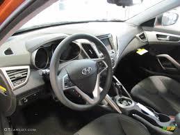 hyundai veloster black interior. Black Interior 2012 Hyundai Veloster Standard Model Photo 63090008 On