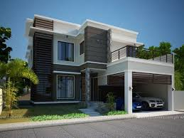 Small Picture Modern Home Designs in Two Storey 5 House Elevation Modern