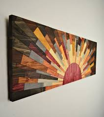 painting ideas for wall art. wood wall art edge of the day wooden by stainsandgrains - interior decor luxury style ideas home painting for l