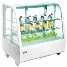 countertop display refrigerator polar display refrigerated merchandiser white countertop display refrigerator with glass door